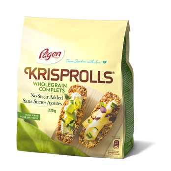KRISPROLLS Wholegrain No sugar added